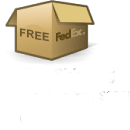 orders over $125 qualified for: (Free - 2-3 Day Fedex for USA) & (Free - Fedex Ground to Canada)